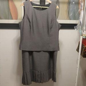 🎈Kasper Suit EUC Top & Skirt NWT, Sz 16